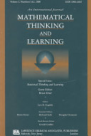 Statistical Thinking and Learning