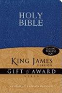 King James Version Gift and Award Bible