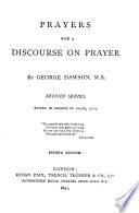 Prayers with a Discourse on Prayer