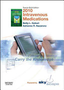 Intravenous Medications 2010