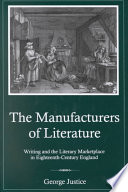 The Manufacturers of Literature