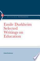 Emile Durkheim Founding Fathers Of Modern Sociology And