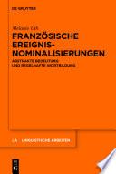 Franz  sische Ereignisnominalisierungen