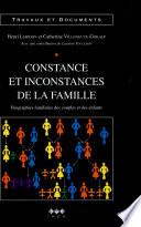 illustration Constance et inconstances de la famille