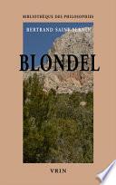 illustration du livre Blondel