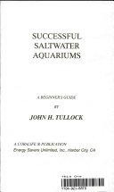 Successful Saltwater Aquariums