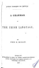 A Grammar Of The Irish Language book