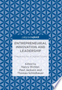 Entrepreneurial Innovation And Leadership