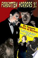 Forgotten Horrors 3 Dr Turner S House Of Horrors