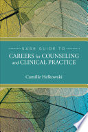 Sage Guide To Careers For Counseling And Clinical Practice