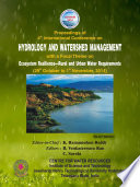 HYDROLOGY AND WATERSHED MANAGEMENT