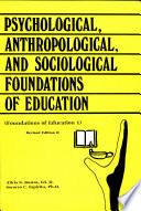 Foundation of Education I
