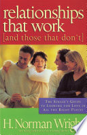 Relationships That Work And Those That Don T