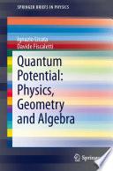 Quantum Potential  Physics  Geometry and Algebra