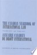 Annuaire Canadien de Droit International 1988