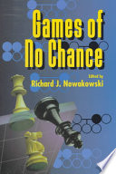 Games of No Chance Free download PDF and Read online