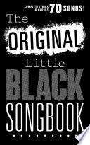 The Original Little Black Songbook book