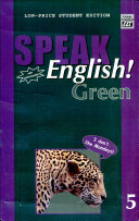 Speak English  Green 5 With Audiocassette