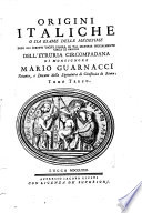 Origini italiche, o siano Memorie istorico-etrusche sopra l'antichissimo regno d'Italia
