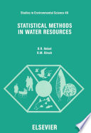 Statistical Methods in Water Resources Book PDF