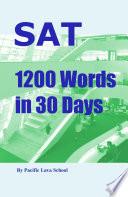 SAT 1200 Words in 30 Days