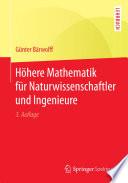 H  here Mathematik f  r Naturwissenschaftler und Ingenieure