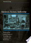 Openness  Secrecy  Authorship
