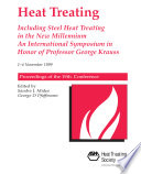 Heat Treating  Including Steel Heat Treating In the New Millennium