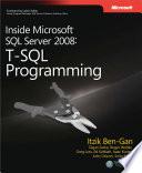 Inside Microsoft Sql Server 2008 T Sql Programming