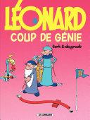 illustration Léonard - tome 08 - Coup de génie