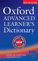 Oxford Advanced Learner s Dictionary  Seventh Edition  Special Price
