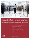 Rapid J2EE Development