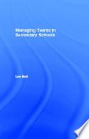 Managing Teams in Secondary Schools
