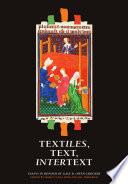 Textiles  Text  Intertext