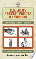 U S  Army Special Forces Handbook