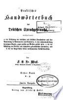 Praktisches Handw  rterbuch des deutschen Sprachgebrauchs