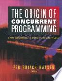 The Origin of Concurrent Programming