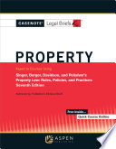 Casenotes Legal Briefs for Property Keyed to Singer  Berger  Davidson  and Penalver