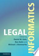Legal Informatics Book PDF