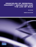 Principles of Personal Property Securities and the Law of Sale