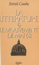 La littérature et le mouvement de mai 68