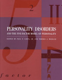 Personality Disorders And The Five Factor Model Of Personality