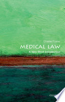 Medical Law  A Very Short Introduction