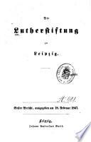 Die Lutherstiftung zu Leipzig