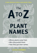 download ebook the a to z of plant names pdf epub