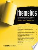 Themelios  Volume 35  Issue 3
