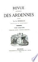 Revue historiques des Ardennes