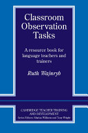 Classroom Observation Tasks