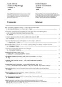 South African journal of psychology