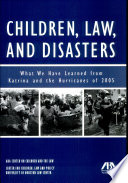 Children, Law, and Disasters